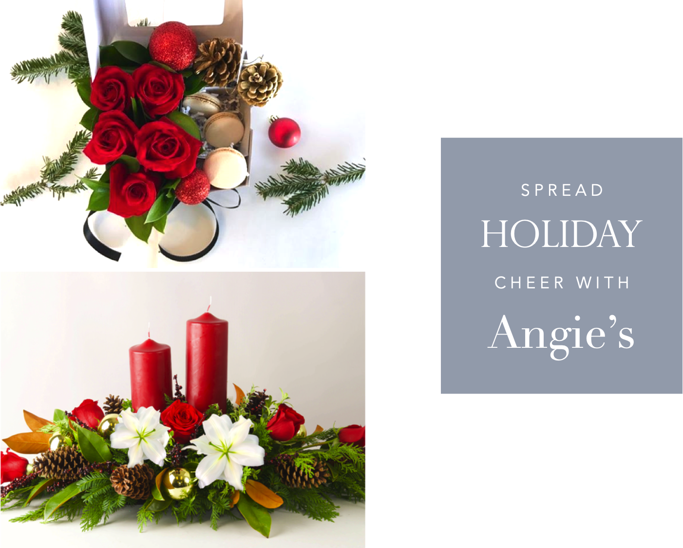 Holiday Flowers Are Here - Angie's Floral Designs