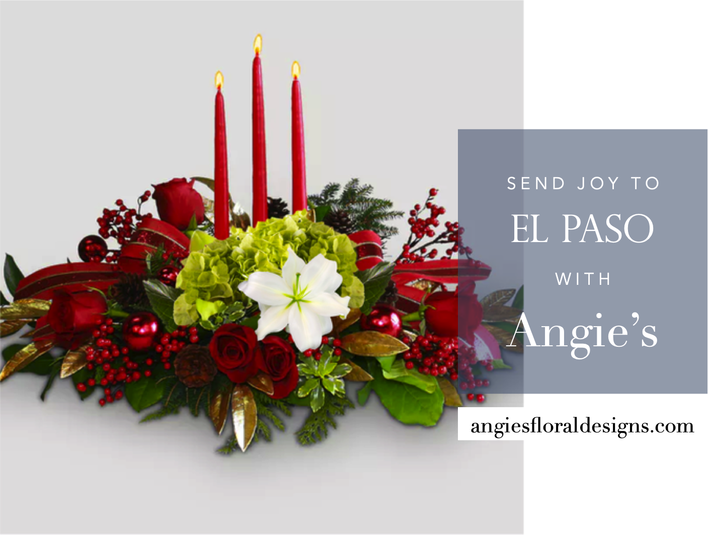 Holiday Flowers Are Here Angies Floral Designs
